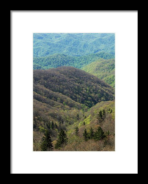 Scenics Framed Print featuring the photograph Early Spring, North Carolina by Jerry Whaley