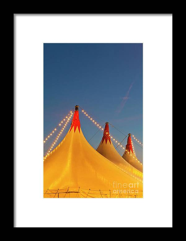 Circus Tent Framed Print featuring the photograph Germany, Baden Wuerttemberg, Stuttgart by Westend61