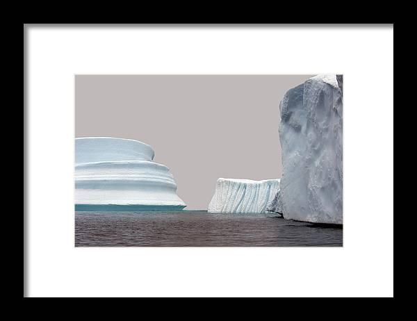 Iceberg Framed Print featuring the photograph Iceberg by Jim Julien / Design Pics