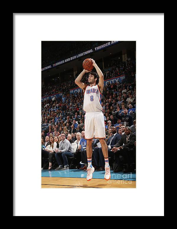 Nba Pro Basketball Framed Print featuring the photograph La Clippers V Oklahoma City Thunder by Layne Murdoch