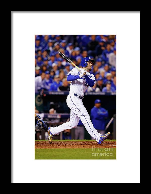 People Framed Print featuring the photograph League Championship - Toronto Blue Jays 2 by Jamie Squire