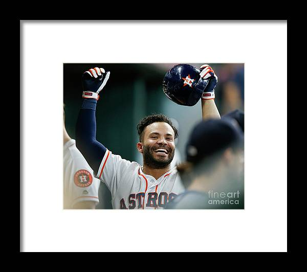 People Framed Print featuring the photograph Los Angeles Angels Of Anaheim V by Bob Levey