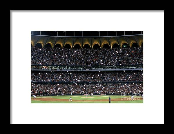 Season Framed Print featuring the photograph Mark Mcgwire 25 by Vincent Laforet