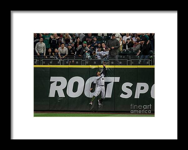People Framed Print featuring the photograph Minnesota Twins V Seattle Mariners by Stephen Brashear