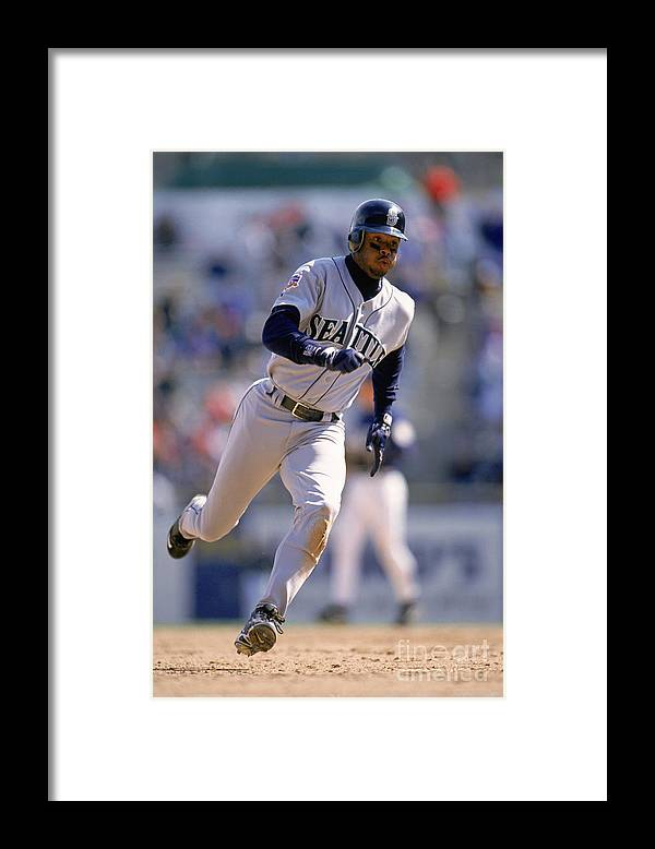 People Framed Print featuring the photograph Mlb Photos Archive by John Williamson