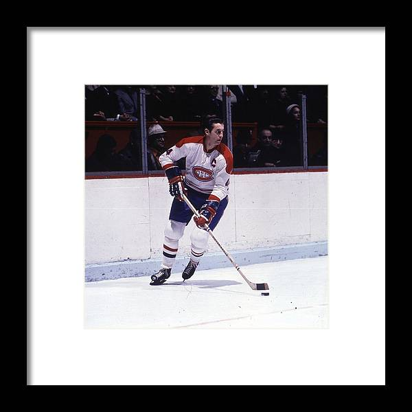 People Framed Print featuring the photograph Montreal Canadiens by Denis Brodeur