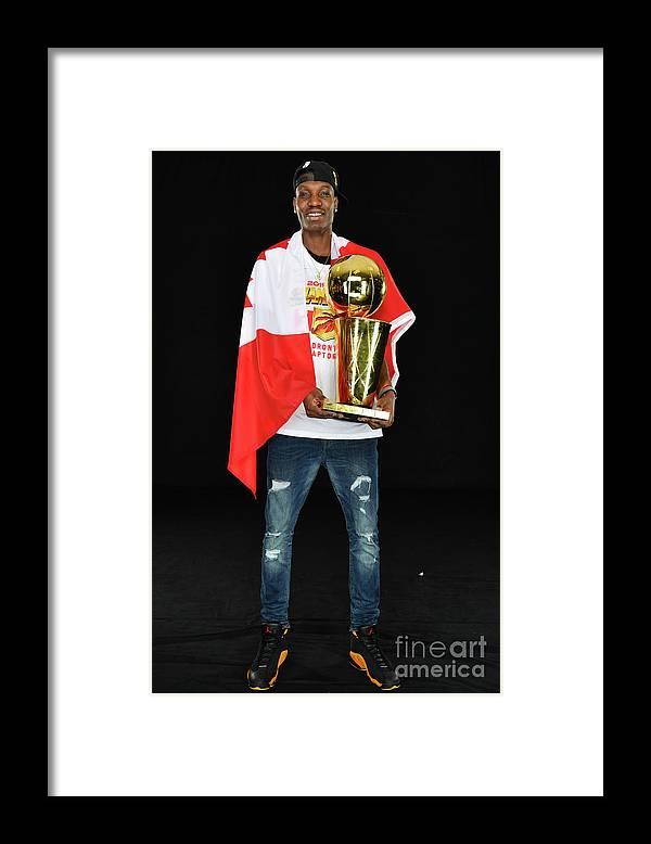 Playoffs Framed Print featuring the photograph Nba Finals Portraits by Jesse D. Garrabrant