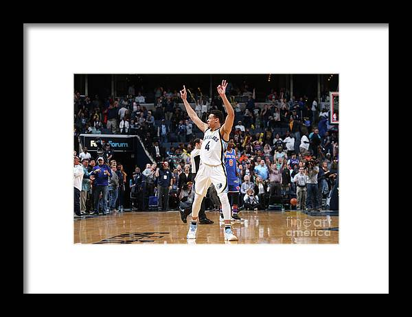 Nba Pro Basketball Framed Print featuring the photograph New York Knicks V Memphis Grizzlies by Joe Murphy