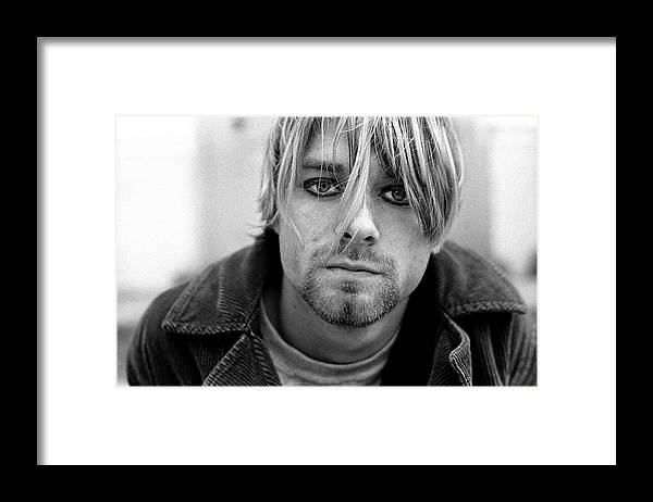 Singer Framed Print featuring the photograph Nirvana In Shepherds Bush by Martyn Goodacre