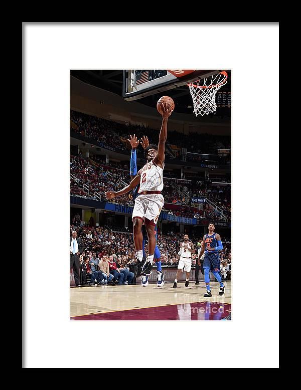Nba Pro Basketball Framed Print featuring the photograph Oklahoma City Thunder V Cleveland by David Liam Kyle