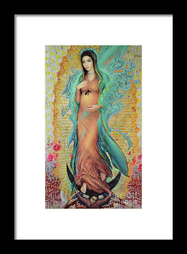 Mother Framed Print featuring the painting Our Lady of Guadalupe by Smith Catholic Art