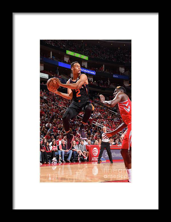 Nba Pro Basketball Framed Print featuring the photograph Phoenix Suns V Houston Rockets by Bill Baptist