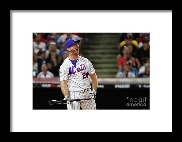 Three Quarter Length Framed Print featuring the photograph T-mobile Home Run Derby by Gregory Shamus