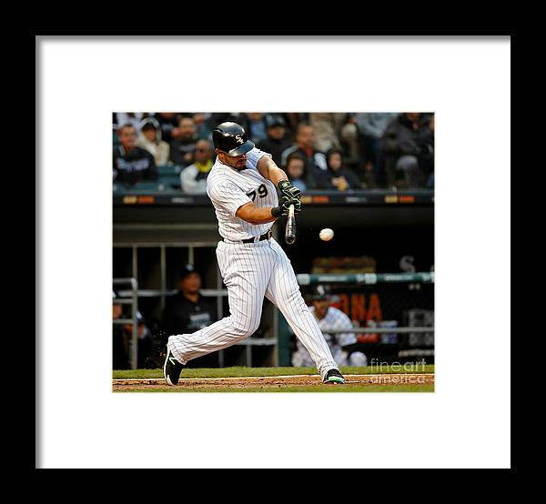People Framed Print featuring the photograph Texas Rangers V Chicago White Sox by Jon Durr
