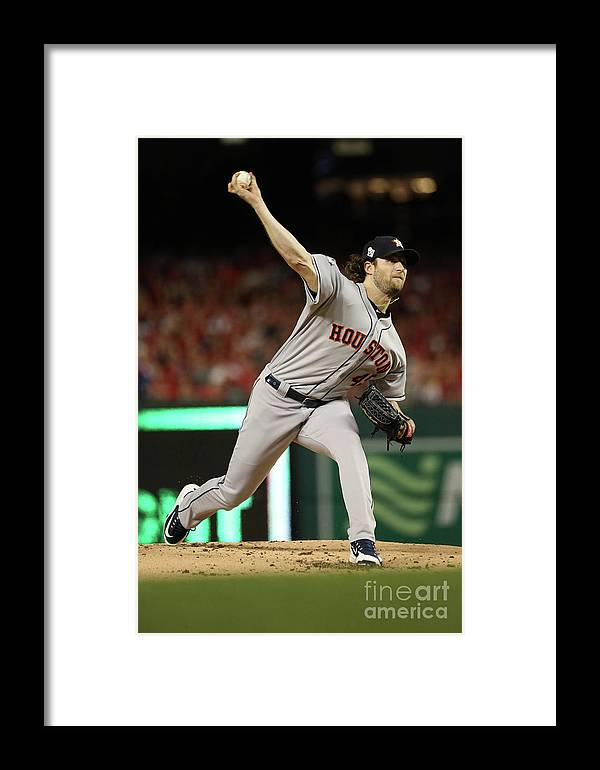 People Framed Print featuring the photograph World Series - Houston Astros V 2 by Patrick Smith