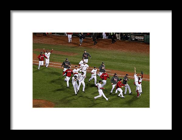 St. Louis Cardinals Framed Print featuring the photograph World Series - St Louis Cardinals V by Alex Trautwig