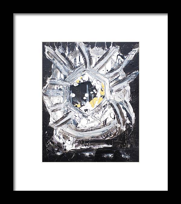 Framed Print featuring the painting You Are A Dream Edition 1 by Sonye Locksmith