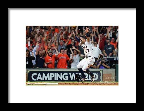 Game Two Framed Print featuring the photograph League Championship Series - New York by Elsa