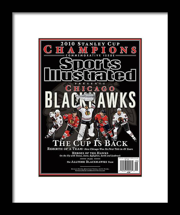Playoffs Framed Print featuring the photograph 2010 Stanley Cup Finals Sports Illustrated Cover by Sports Illustrated