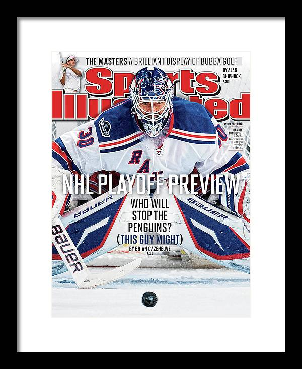 Magazine Cover Framed Print featuring the photograph 2012 Nhl Playoff Preview Issue Sports Illustrated Cover by Sports Illustrated