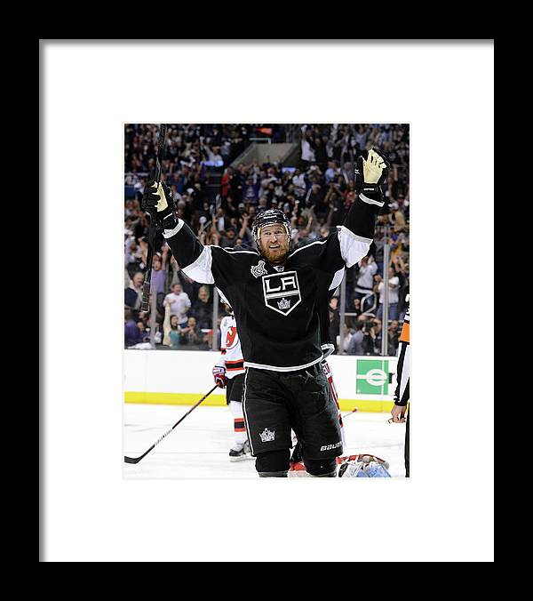 Playoffs Framed Print featuring the photograph 2012 Nhl Stanley Cup Final – Game Six by Harry How