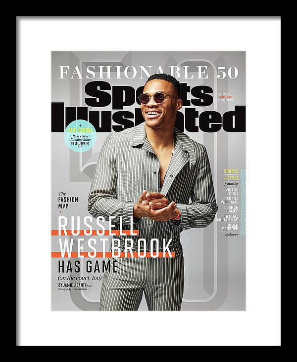 Magazine Cover Framed Print featuring the photograph 2017 Fashionable 50 Issue Sports Illustrated Cover by Sports Illustrated