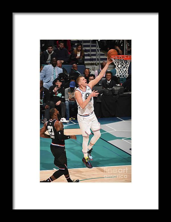 Nba Pro Basketball Framed Print featuring the photograph 2019 Nba All-star Game by Garrett Ellwood