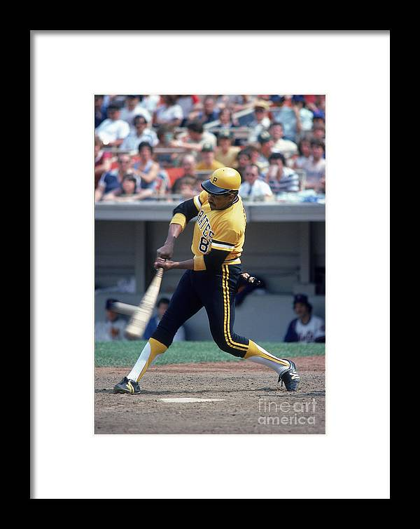 1980-1989 Framed Print featuring the photograph Mlb Photos Archive 24 by Rich Pilling