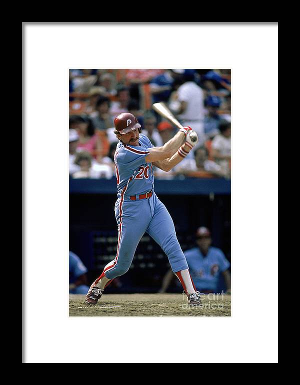 Mike Schmidt Framed Print featuring the photograph Mlb Photos Archive 28 by Mlb Photos