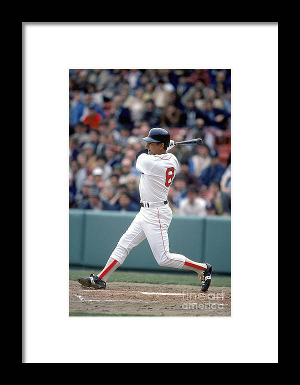 1980-1989 Framed Print featuring the photograph Mlb Photos Archive 29 by Rich Pilling