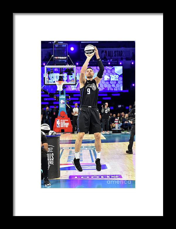 Nba Pro Basketball Framed Print featuring the photograph 2019 Taco Bell Skills Challenge by Jesse D. Garrabrant