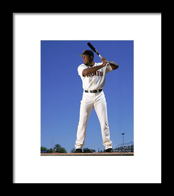 Arizona Framed Print featuring the photograph Barry Bonds by Andy Hayt