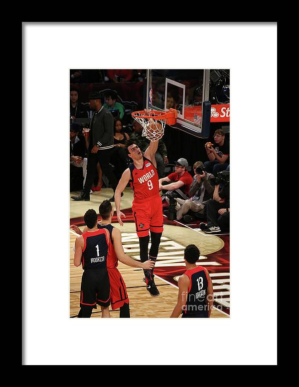 Smoothie King Center Framed Print featuring the photograph Bbva Compass Rising Stars Challenge 2017 by Gary Dineen