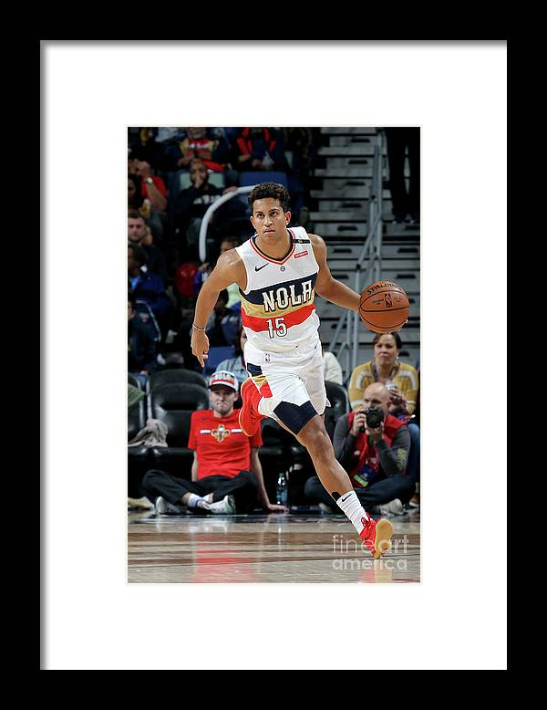 Smoothie King Center Framed Print featuring the photograph Cleveland Cavaliers V New Orleans by Layne Murdoch Jr.