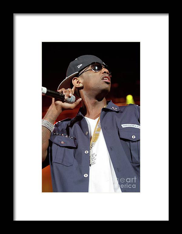 Rapper Framed Print featuring the photograph Fabulous by Concert Photos