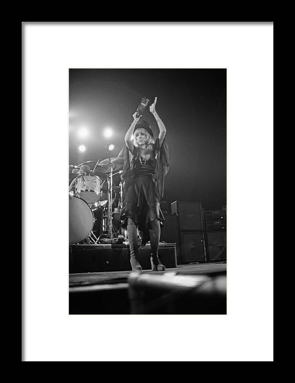 Singer Framed Print featuring the photograph Fleetwood Mac by Fin Costello