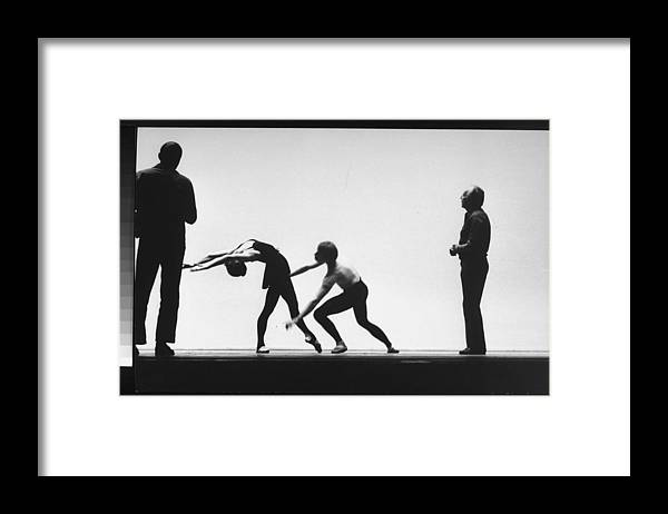 Timeincown Framed Print featuring the photograph George Balanchine by Gjon Mili