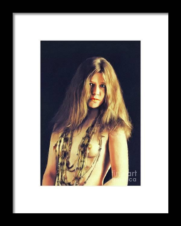 Janis Joplin, Music Legend by Esoterica Art Agency