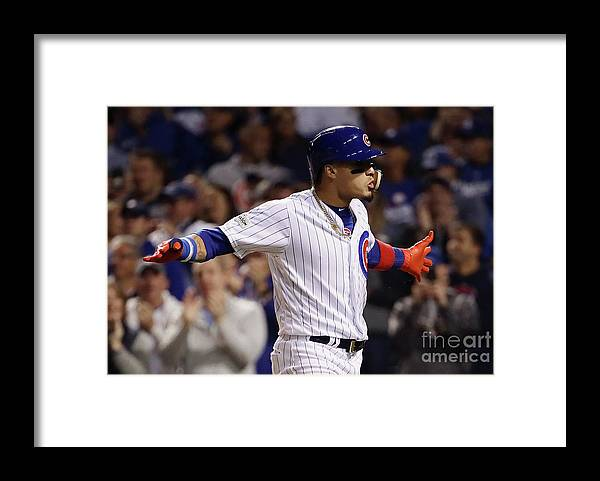 Second Inning Framed Print featuring the photograph League Championship Series - Los by Jonathan Daniel