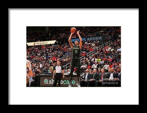 Atlanta Framed Print featuring the photograph Miami Heat V Atlanta Hawks by Kevin Liles