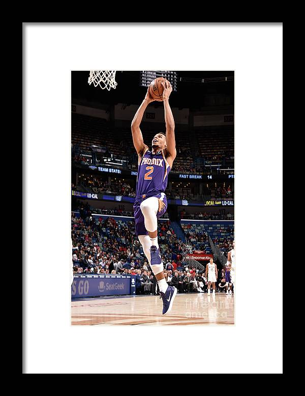 Smoothie King Center Framed Print featuring the photograph Phoenix Suns V New Orleans Pelicans by Bill Baptist