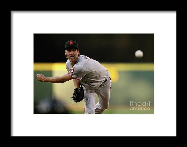 People Framed Print featuring the photograph San Francisco Giants V Seattle Mariners 3 by Otto Greule Jr