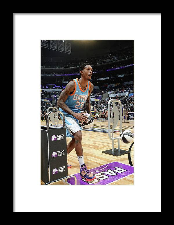 Event Framed Print featuring the photograph Taco Bell Skills Challenge 2018 by Andrew D. Bernstein