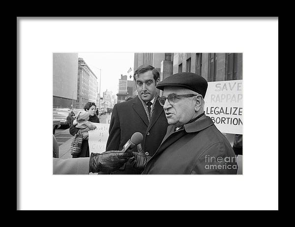 Social Issues Framed Print featuring the photograph The Fight For Womens Reproductive Rights by Bettmann