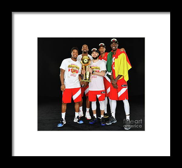 Playoffs Framed Print featuring the photograph 2019 Nba Finals Portraits by Jesse D. Garrabrant