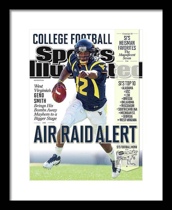 Magazine Cover Framed Print featuring the photograph 2012 College Football Preview Issue Sports Illustrated Cover by Sports Illustrated