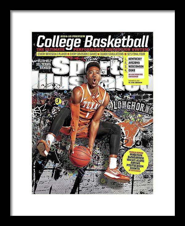 Point Guard Framed Print featuring the photograph 2014-15 College Basketball Preview Issue Sports Illustrated Cover by Sports Illustrated