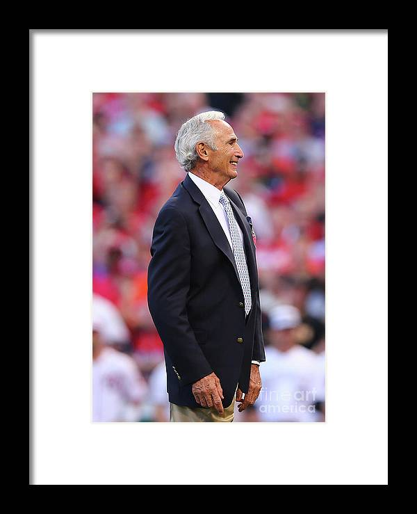 Great American Ball Park Framed Print featuring the photograph 86th Mlb All-star Game 4 by Elsa