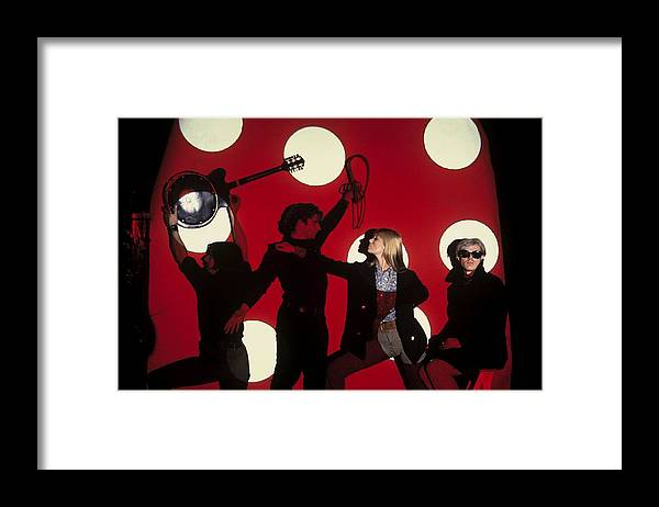 Singer Framed Print featuring the photograph Andy Warhol In New York, United States by Herve Gloaguen