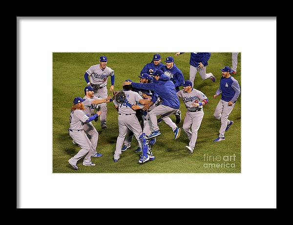 Championship Framed Print featuring the photograph League Championship Series - Los by Dylan Buell
